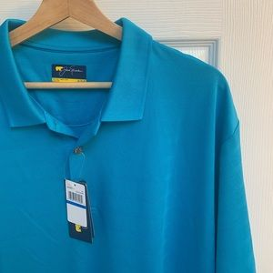 Jack Nicklaus Turquoise Polo
